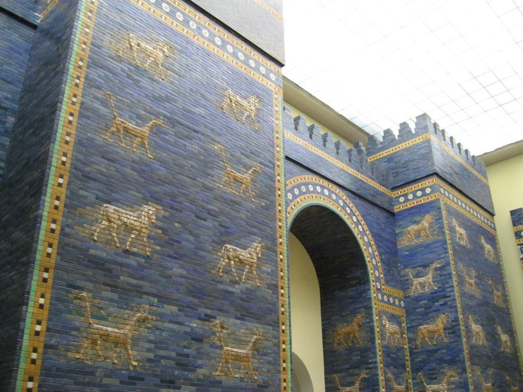 Ancient Mesopotamia - Ishtar Gates  (Pergamon Museum Berlin)