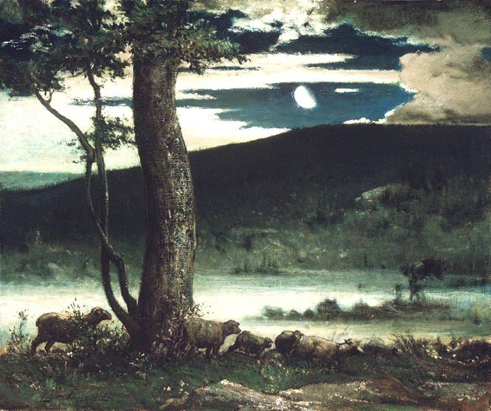 Midnight Moon (Elliott Daingerfield, 1906)