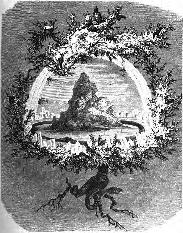 World Tree Yggdrasil (Friedrich Wilhelm Heine, 1882)